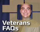 Veterans FAQ's
