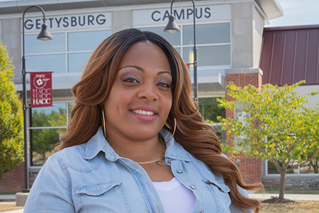 Tanishia Anderson, HACC criminal justice student
