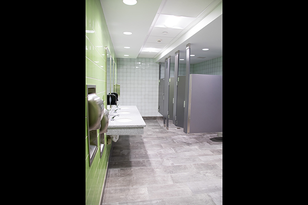 Second Floor Men's Restroom (212)