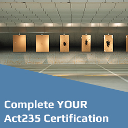 Complete your Act235 Certification