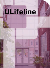 ULifeline Web button