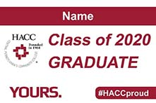 Commencement Yard Sign Design 3
